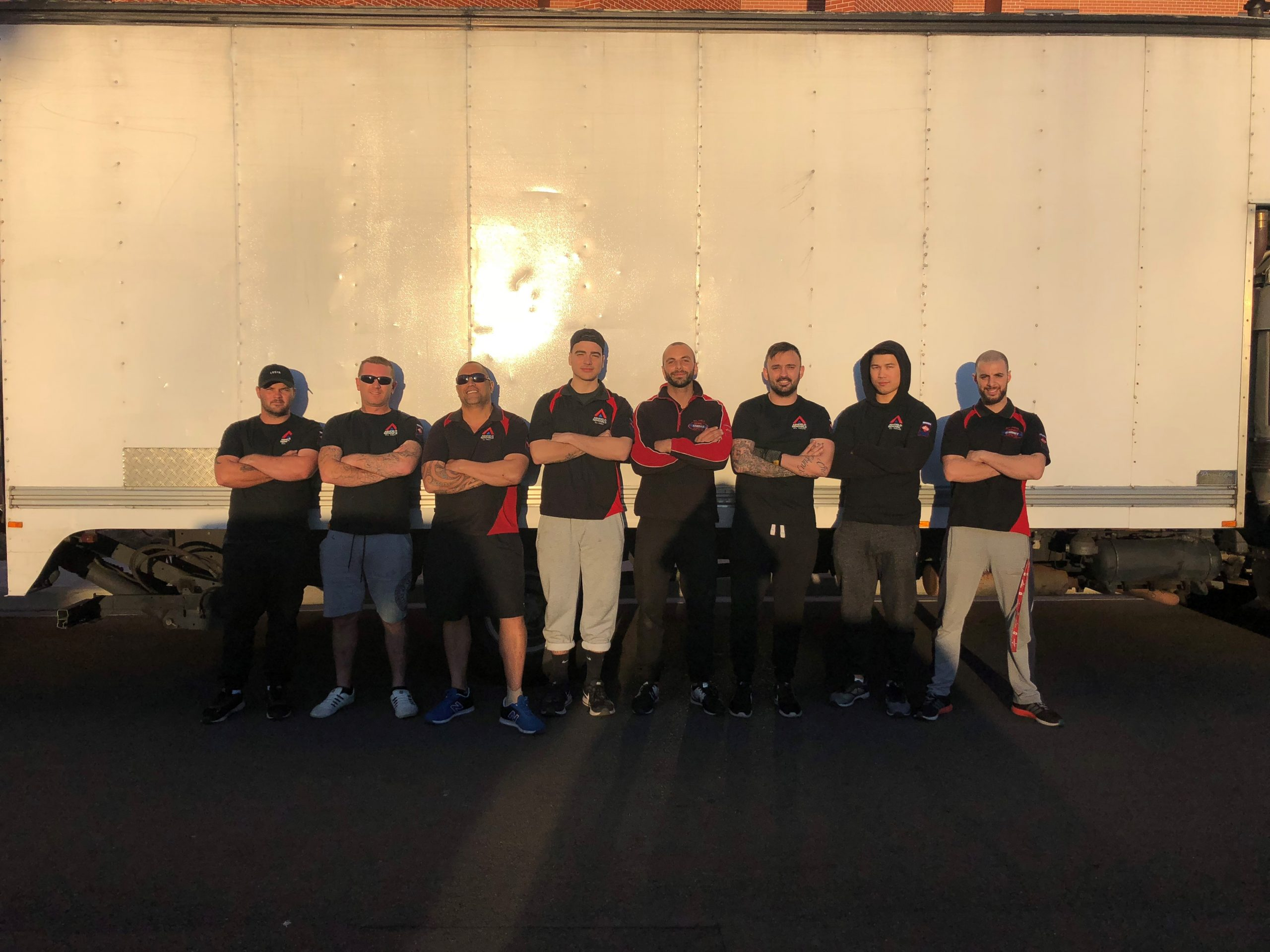 team members ashfield removals